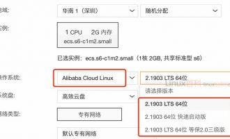 Alibaba Cloud Linux 2.1903 LTS 64位/快速启动版/等保2.0三级版区别选择