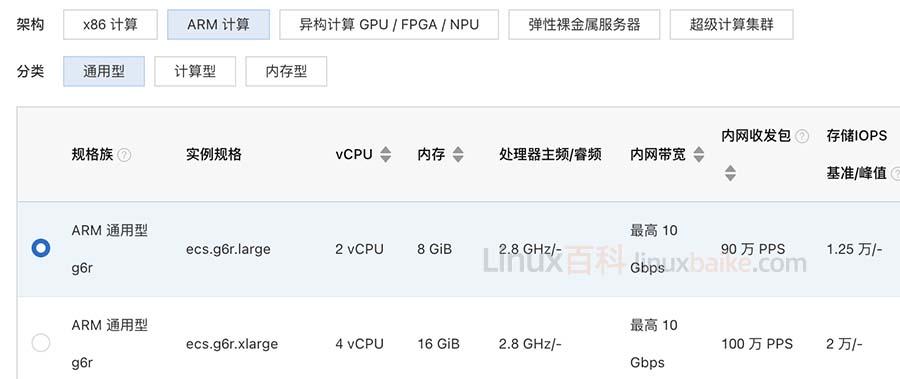 阿里云ARM服务器