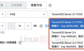 腾讯云服务器TencentOS Server镜像系统体验评测及常见问题解答